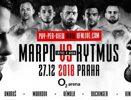 XFN 15 – MARPO VS RYTMUS, Praha O2 arena, 27.12.2018