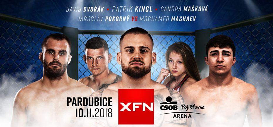 XFN 13 – Pardubice, ČSOB Pojišťovna ARENA, 10.11.2018