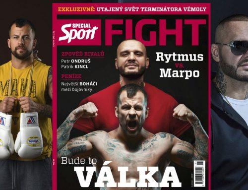 Druhý díl magazínu FIGHT! v prodeji. O válce rapperů i Vémolově dětství