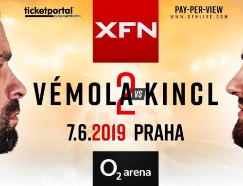 XFN 18 – VÉMOLA VS KINCL 7.6.2019, O2 arena, Praha
