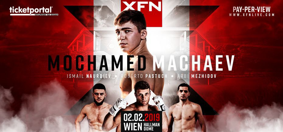 XFN 16 – MOHAMED MACHAEV, 2.2.2019, Hallman Dome, Vídeň