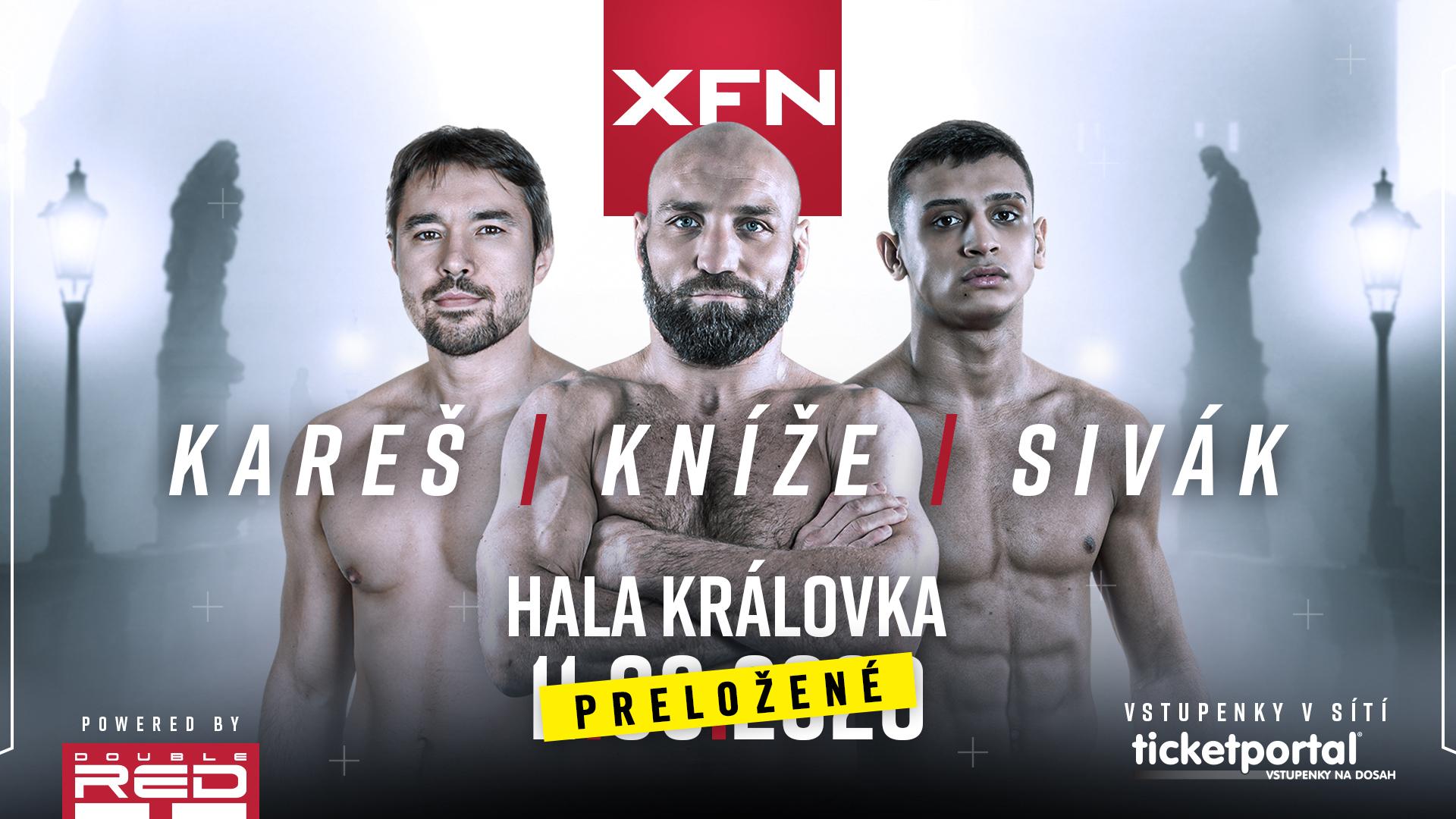 XFN: Never Give Up – 3.4. 2020, hala Královka, Praha
